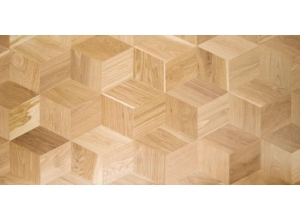 Piso solido 100% madera Hexparket